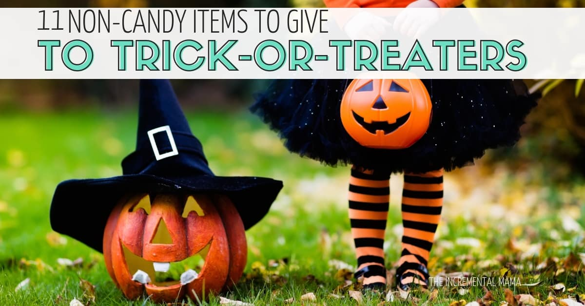 11 Awesome Non-Candy Halloween Treats to Give to Trick-or-Treaters
