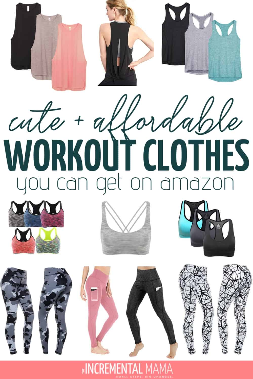 cute workout clothes on amazon