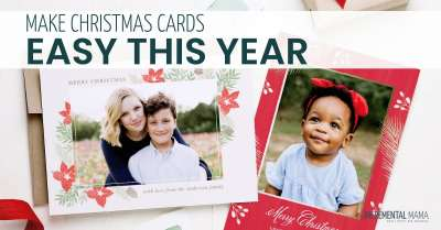 Make it easy to create family Christmas cards this year #familychristmascards #basicinvite