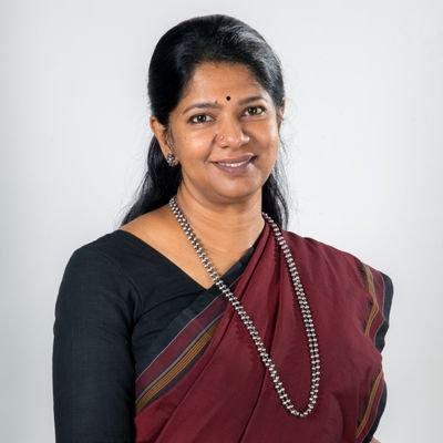 Kanimozhi MP, DMK Tamil Nadu