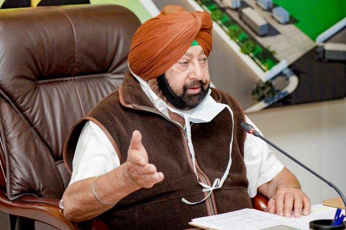 Capt Amarinder Singh India News