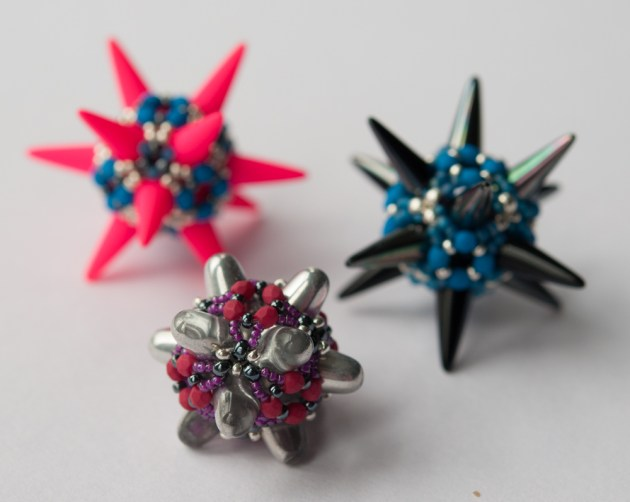 Great Ball of Spikes - Sarah Cryer Beadwork