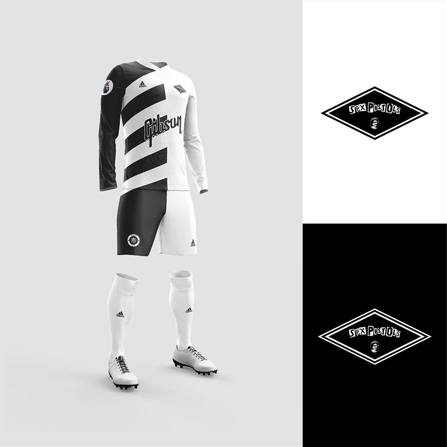 Sex Pistols football kit
