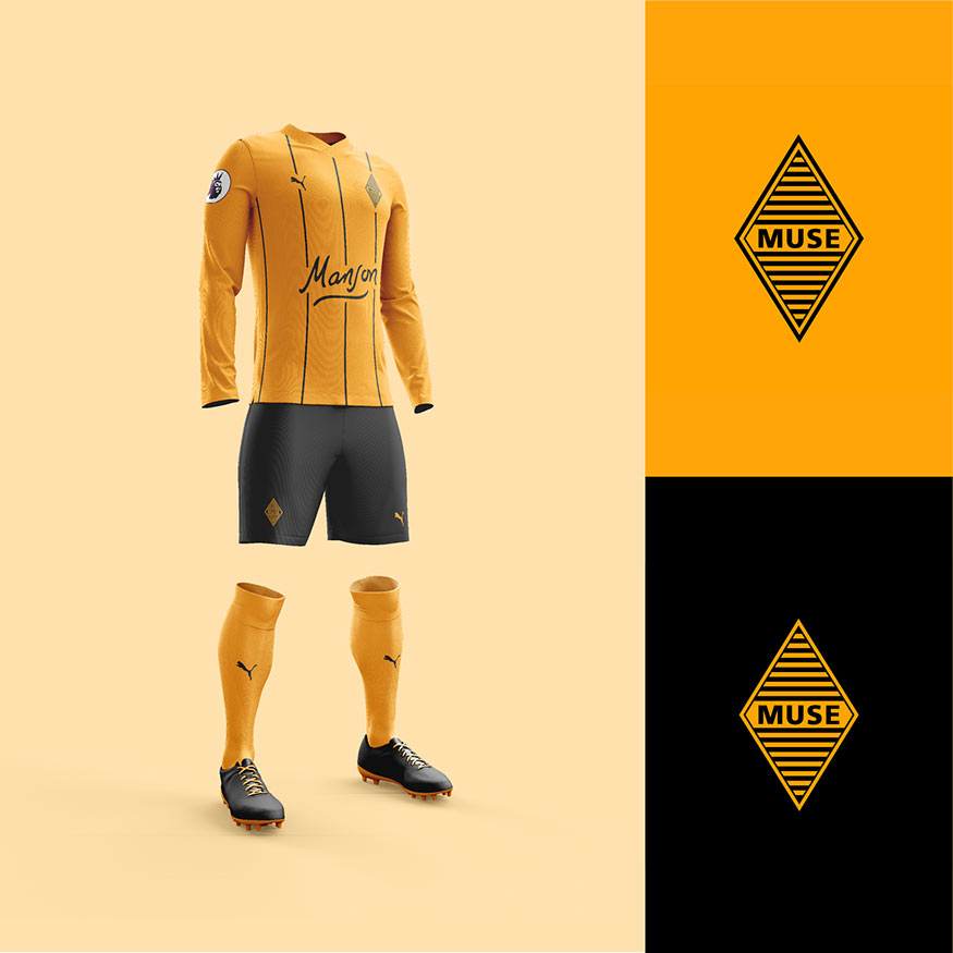 Muse football kit