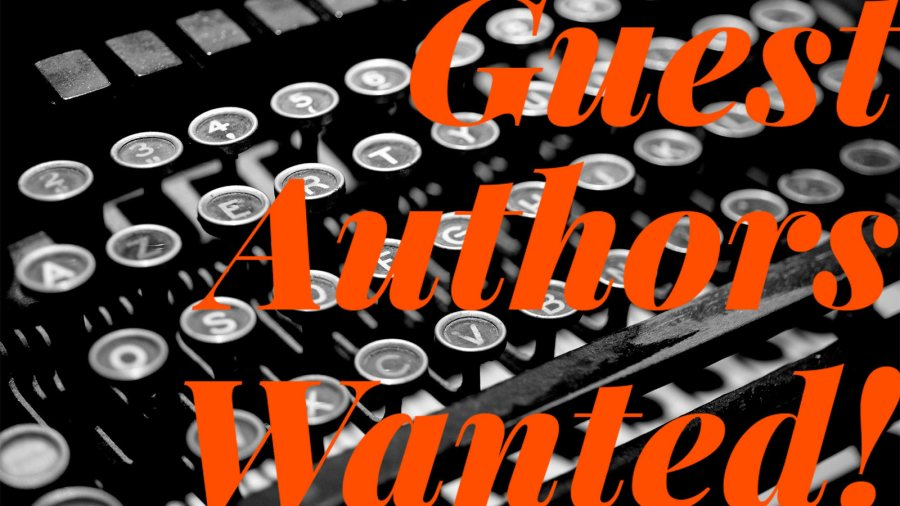 guest authors wanted!