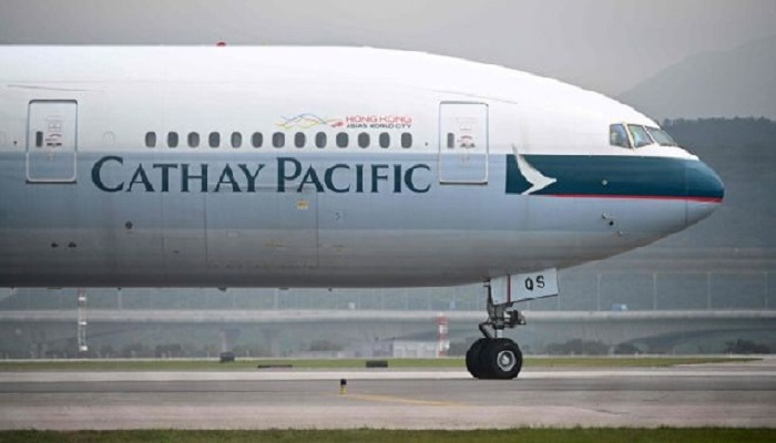 Cathay Pacific to lay off overseas cabin crew. furlough pilots
