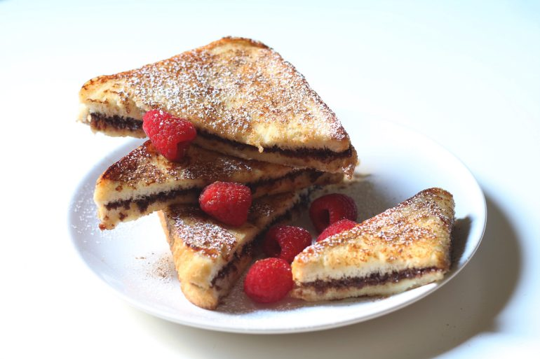 Chocolate French Toast - Recipe - The Indian Claypot