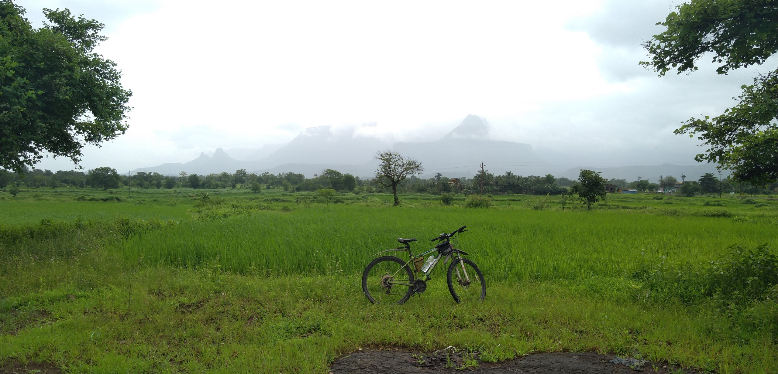 Siddhagad In The Distance