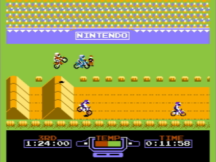 Excite Bike Video Game