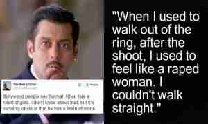 Salman Khan rape comment twitter reaction