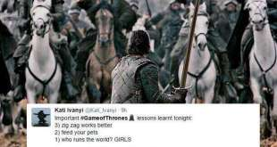 Game of thrones battle of bastards tweets