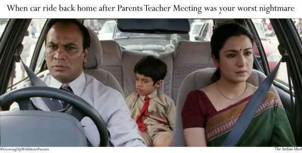 growing up with strict parents in India
