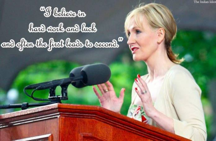 JK Rowling inspiring quotes life lessons