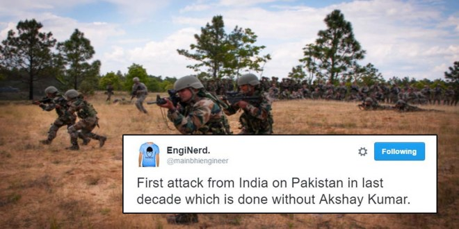 Indian surgical strikes