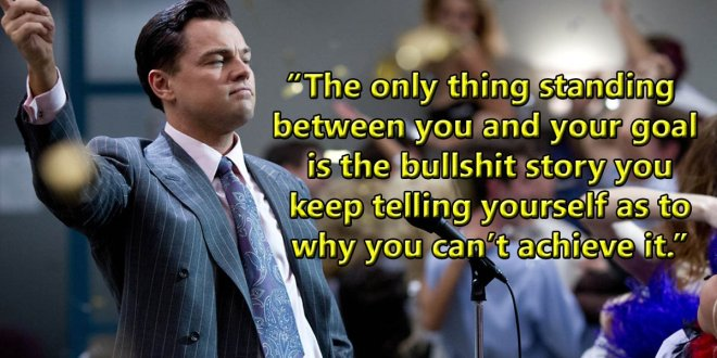 leonardo dicaprio movie quotes