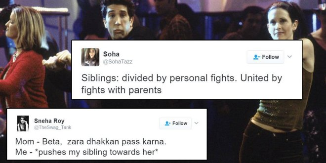 desi tweets about siblings bhai behen in India