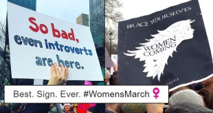 20 Of The Most Creative & Hilarious Signs From Women's Marches Across The World