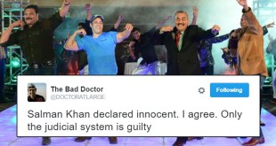 Twitter Reaction To Salman Khan's Verdict For Arms Act Case