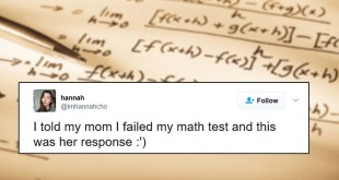 This Girl Told Her Mother She Failed In Math Exam & Her Response Is Going Viral