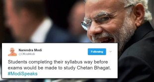 PM Modi parody account on twitter