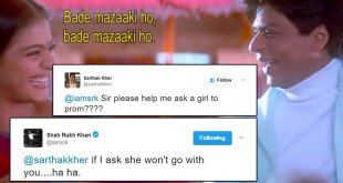 15 Funniest Replies By Shahrukh Khan From His #AskSrk Sessions On Twitter
