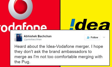 vodafone idea merge tweets funny