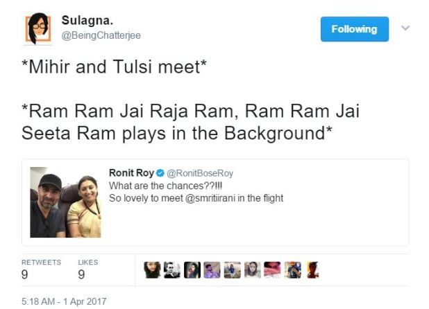 Mihir & Tulsi Reunited After 9 Years And Twitter Had A Field Day!