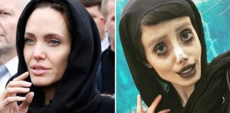 Sahar Tabar who looks like Angelina Jolie