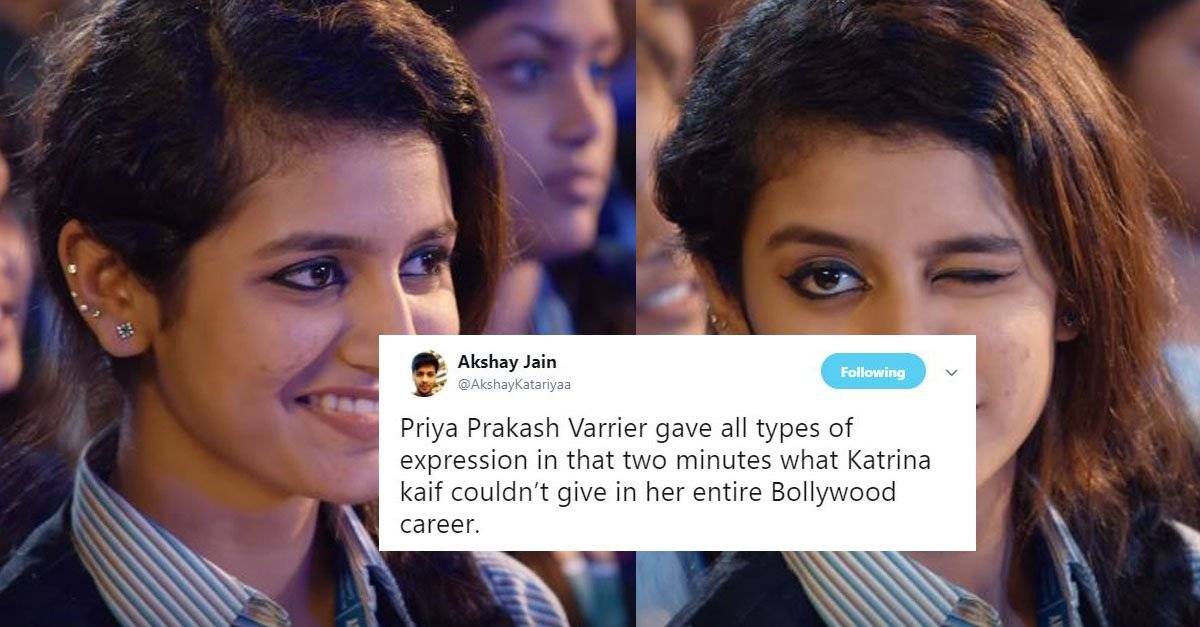 Priya Prakash Varrier Memes & Jokes That Are Going Viral