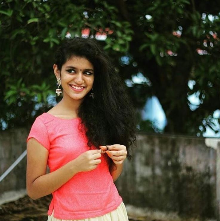 Priya Prakash Varrier Photo