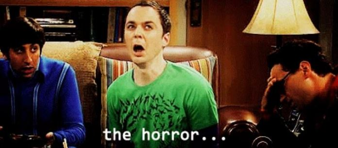 the horror sheldon