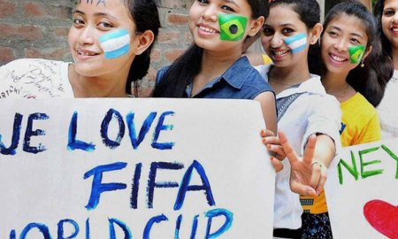 Indian fans fifa world cup
