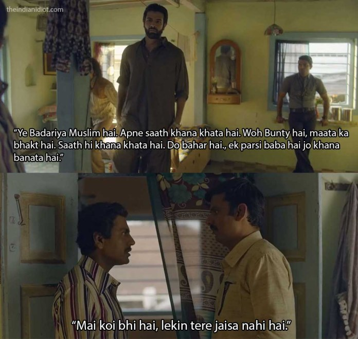 Sacred Games quotes and scenes: ganesh gaitonde on hindu and muslim