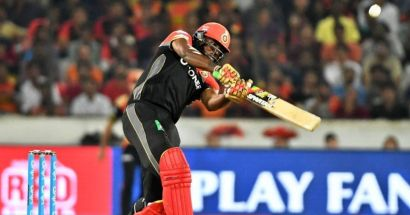 chris gatyle batting in a match from ipl 2014