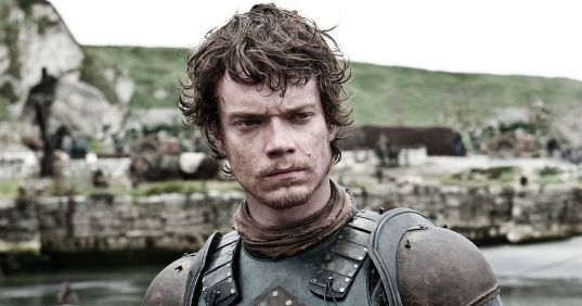 in photot theon greyjoy from the show game of thrones