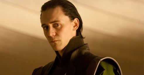 in photot the charcater loki from the marvel movie universe