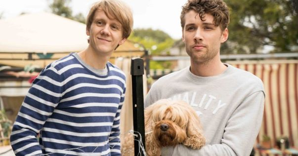a still from the tv show please like me