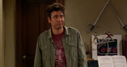 ted mosby from how i met your mother