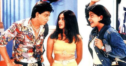 in photot the characters from the movie kuch kuch hota hai