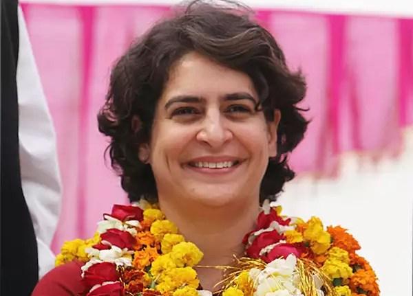 Priyanka became Congress General Secretary