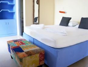 L'une des chambre de la guest-house  Bed & Chaï