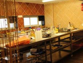 The Gourmet Kitchen & Studio, côté... studio