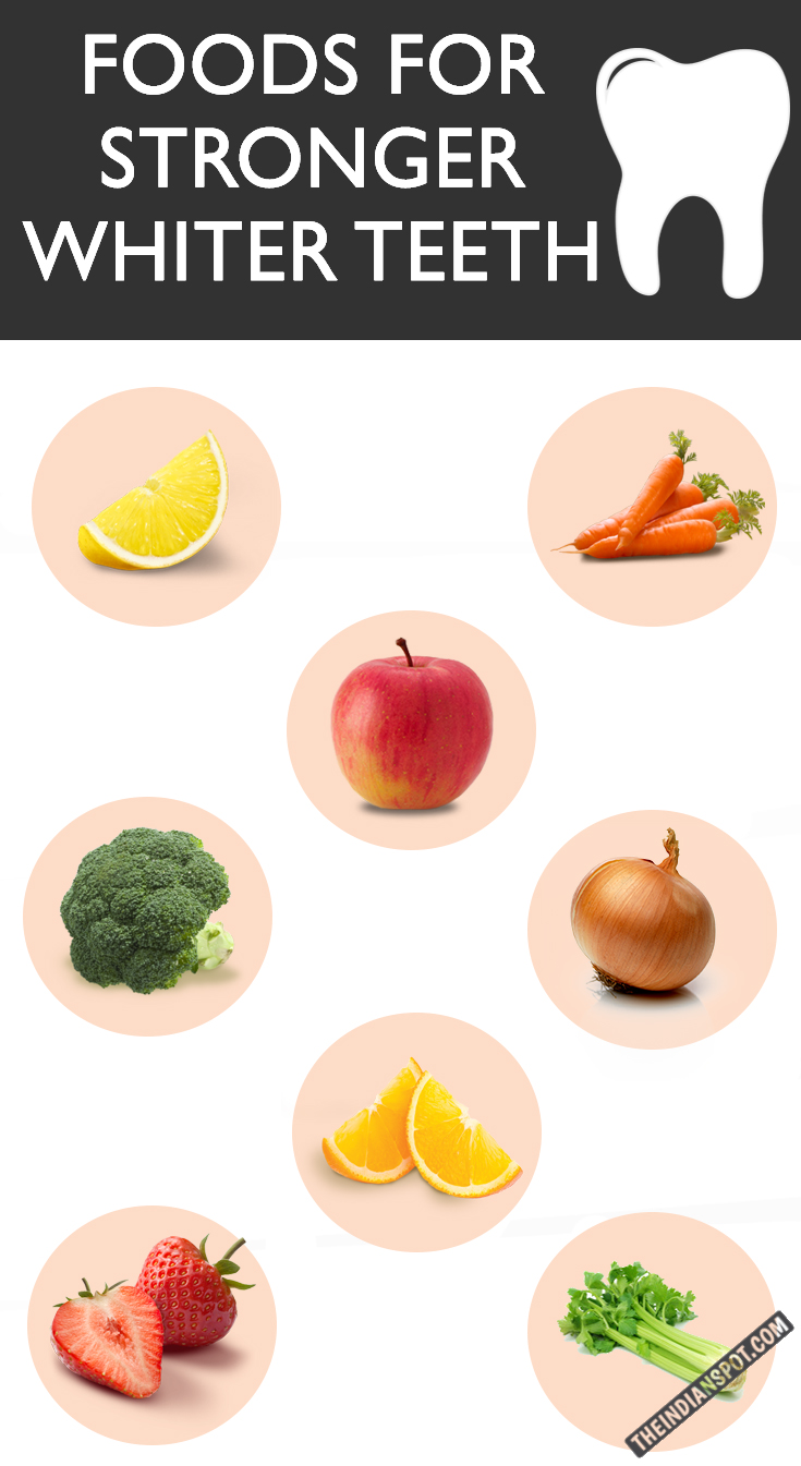 THE BEST 10 FOODS TO EAT FOR STRONGER WHITER TEETH   THE ...