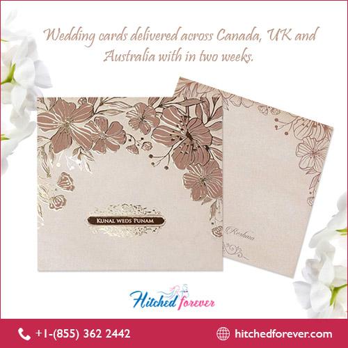 modern sikh wedding invitation
