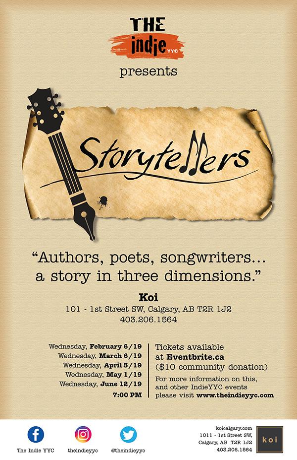 Storytellers calendar