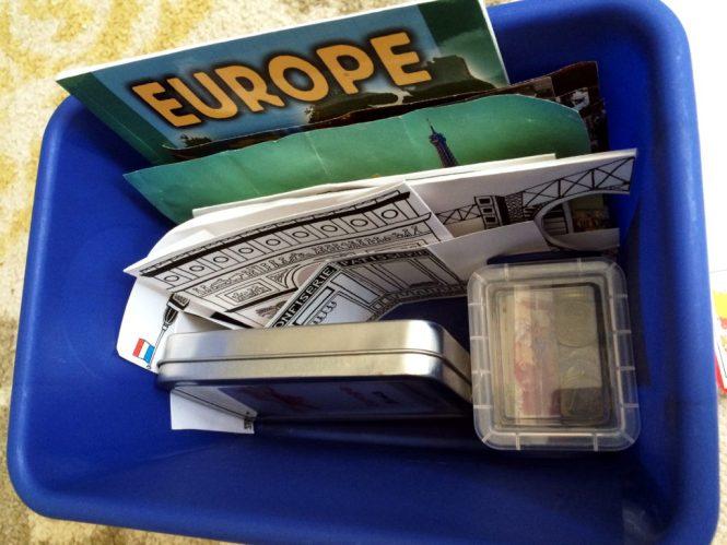 Inside Europe box