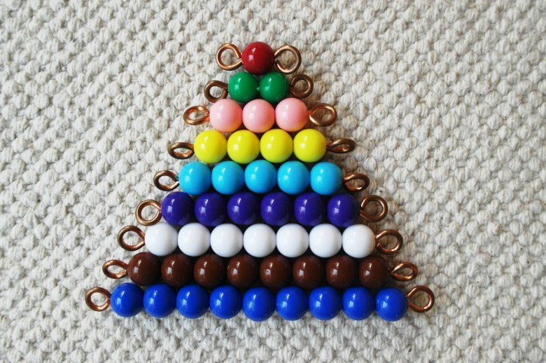 Meet the Colored Bead Stair…