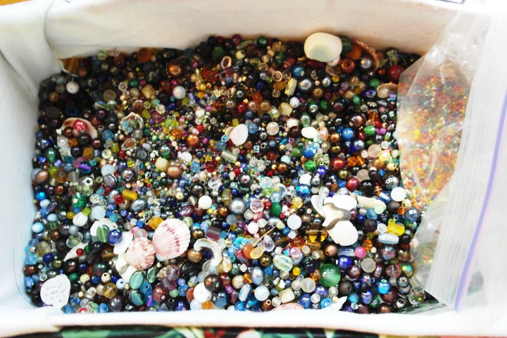 A ton of beads.