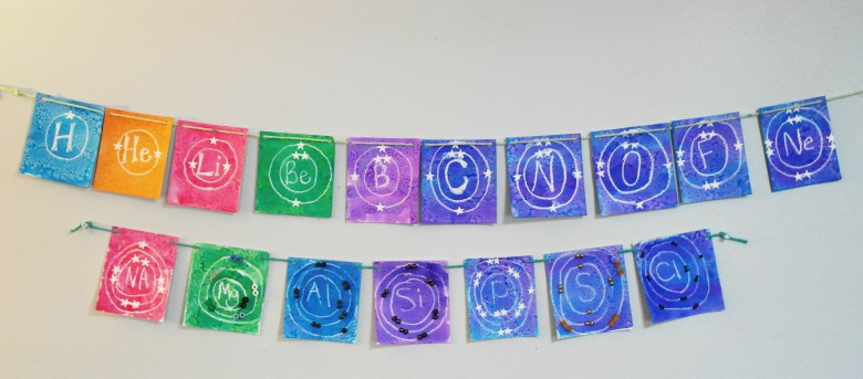 Chemistry: Energy Shell Peace Flags