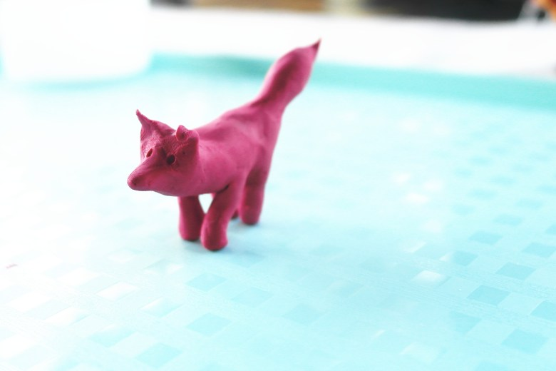Parts of a Fox II – Making Clay Foxes